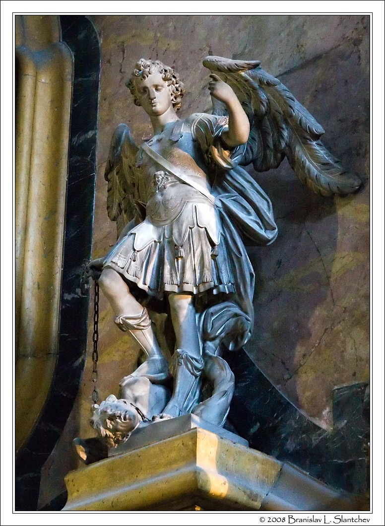Archangel Michael Statues Statue of st Michael by