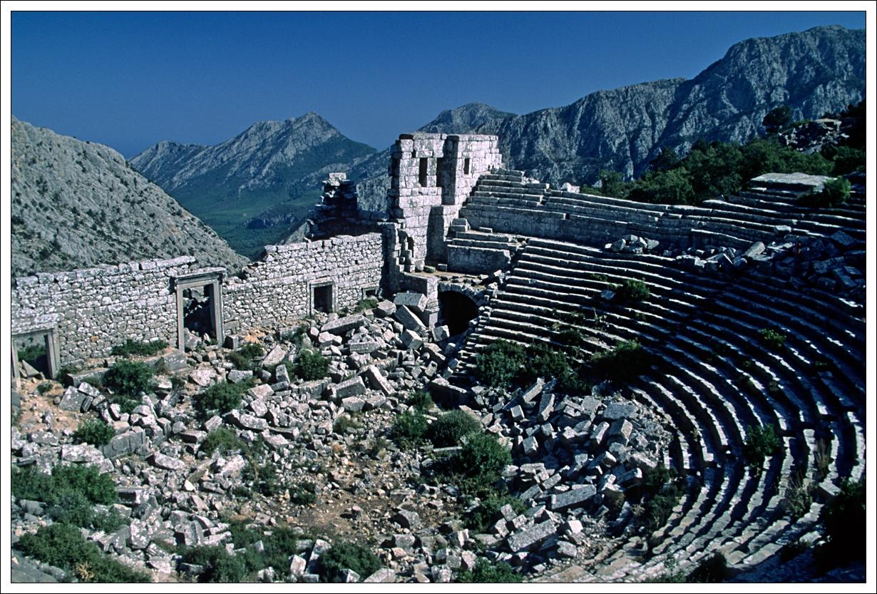 Showing http://www.gotterdammerung.org/photo/travel/turkey/termessos/SLD_0297%20The%20Earthquake-Damaged%20Theater.jpg